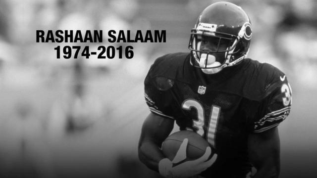 Former Heisman winner, Bears first-round pick Salaam dies at 42