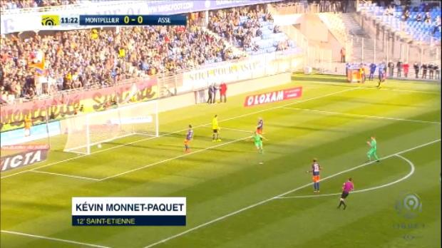 كرة قدم: الدوري الفرنسي: مونبيليه 2-1 سانت اتيان