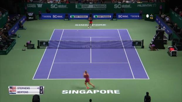 WTA Finals: Stephens schlägt Kerber-Bezwingerin
