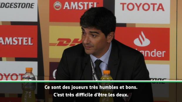 Finale - Biscay - 'Tout le mérite revient aux joueurs'