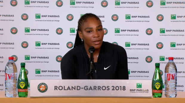 """French Open: Williams: """"Mehr als enttäuscht"""""""
