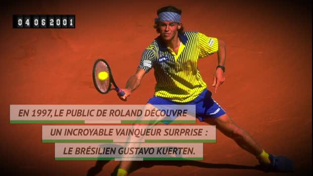 Basket : Il y a 18 ans - Kuerten offrait son coeur à Roland !