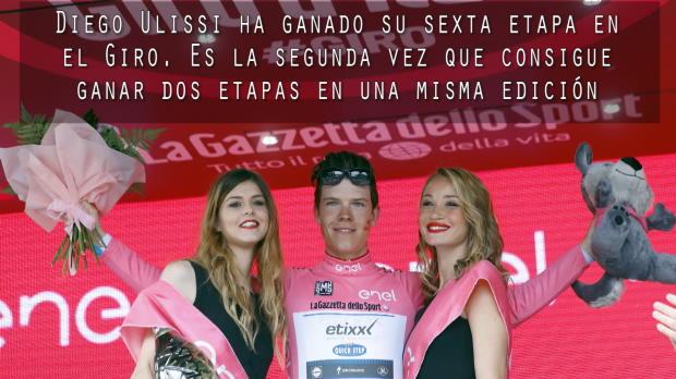 Giro de Italia - Ulissi repite en la 11 etapa