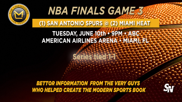 Spurs @ Heat Game 3