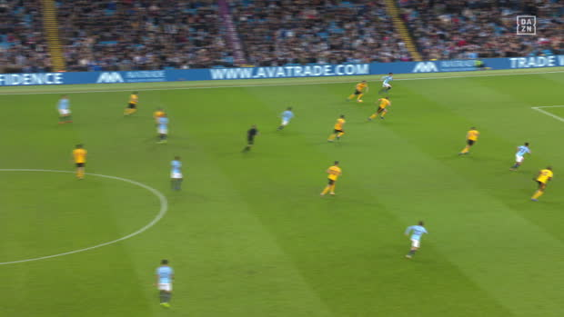Premier League: Man City - Wolverhampton | DAZN Highlights