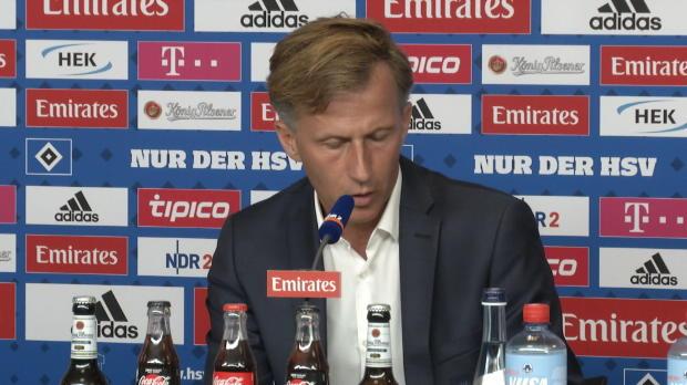 Jonker über den HSV, Relegation und Wollscheid