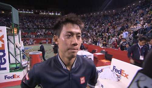 Nishikori Interview: ATP Tokyo Final