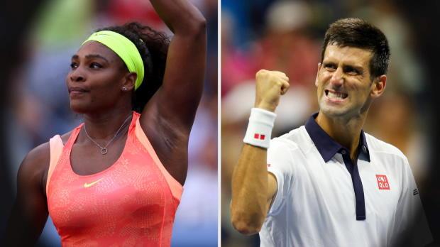 US Open: Serena und Djoker unaufhaltsam