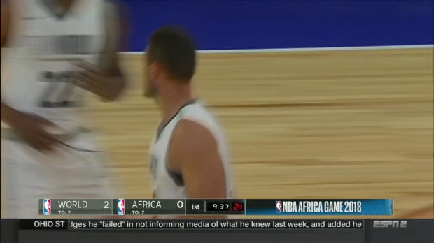 WSC: Danilo Gallinari 23 points vs the Team Africa