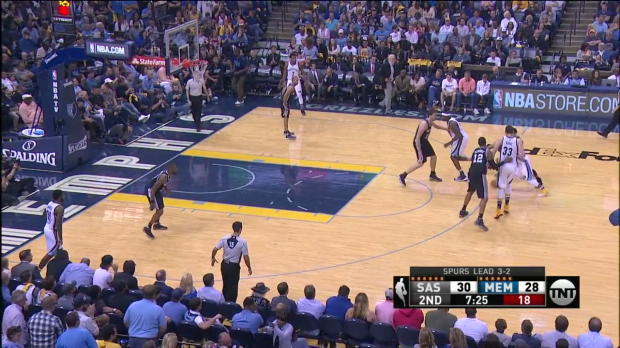 WSC: Mix clip: More than 20 points of Tony Parker, Kawhi Leonard, Mike Conley in San Antonio Spurs vs. the Grizzlies, 4/27/2017