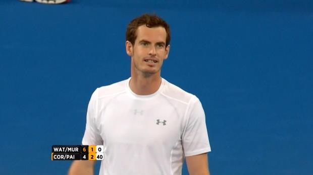 Hopman Cup: Ass! Keine Chance für Murray