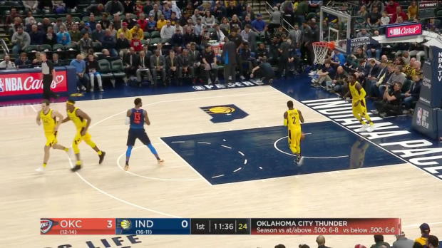 WSC: Russell Westbrook posts 10 points 12 assists 17 rebounds against the Pacers