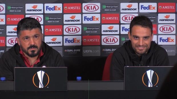 Ibrahimovic? Das sagt Milan-Coach Gattuso