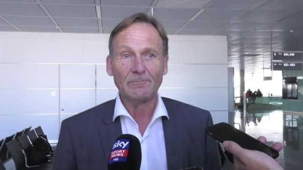 Watzke augenzwinkernd: James' FCB unschlagbar
