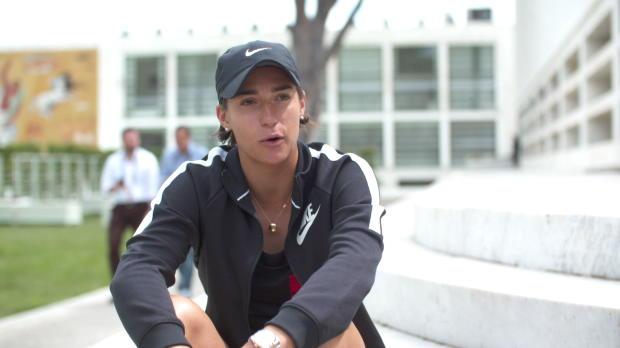 """Basket : Rome - Garcia - """"Ce tournoi peut m'aider à prendre des repères avant Roland-Garros"""""""