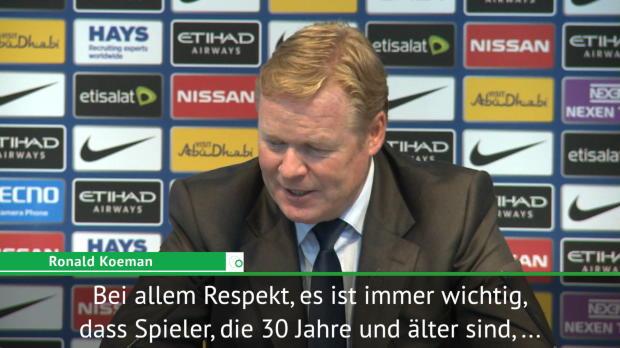 """Koeman: """"Brauchen Rooney in der Mannschaft"""""""