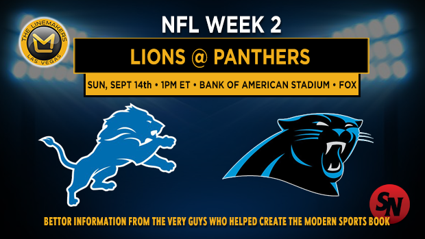Detroit Lions @ Carolina Panthers
