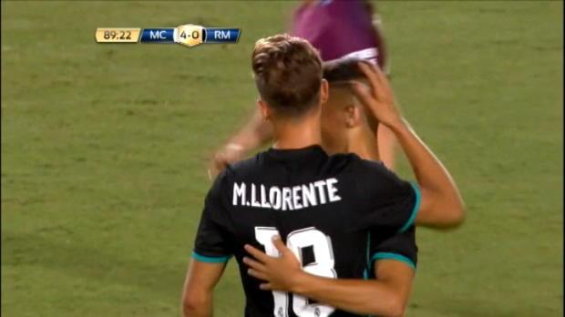 لقطة: كرة قدم: أوسكار رودريغيز يسجل هدف تقليص الفارق للريال