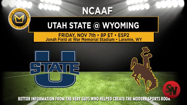 Utah State Aggies @ Wyoming Cowboys