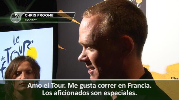 """Tour 2017 - Froome: """"Los aficionados franceses son especiales"""""""
