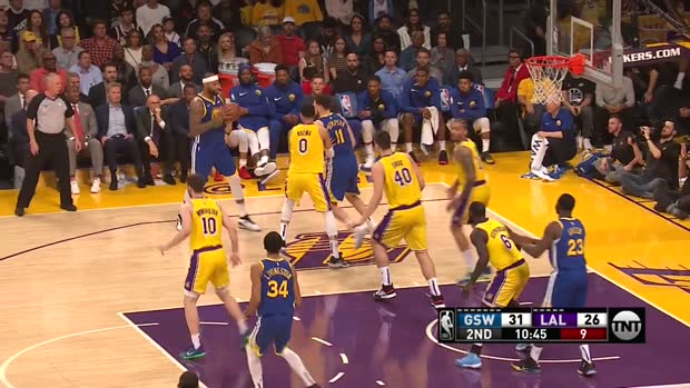 WSC: Klay Thompson 3-pointers in Los Angeles Lakers vs. Golden State Warriors