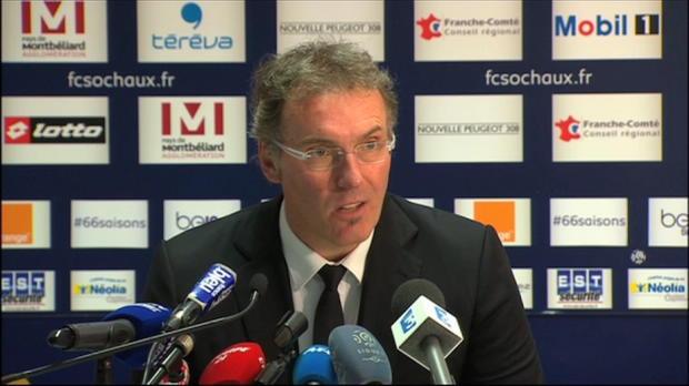 L1 - PSG, Blanc : 'Sochaux l'a m�rit�'