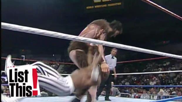 Las luchas más disparejas en WWE: List This!