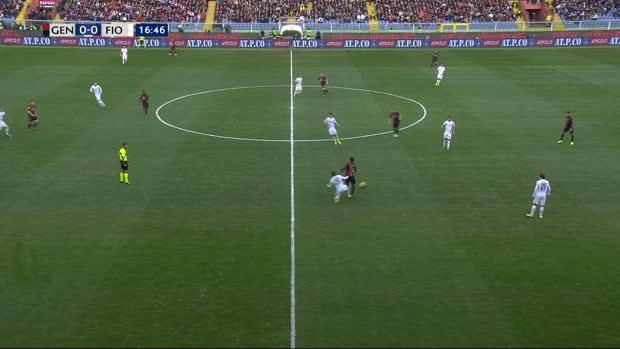 Serie A: CFC Genua - Florenz | DAZN Highlights