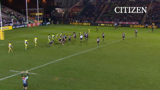 Aviva Premiership - Citizen Try of the Week - Round 4