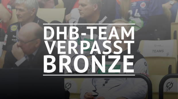 Handball-WM: DHB-Team verpasst Bronzemedaille