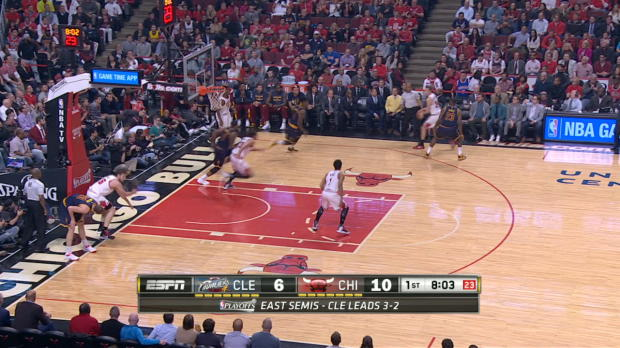 Cavaliers vs. Bulls Game 6