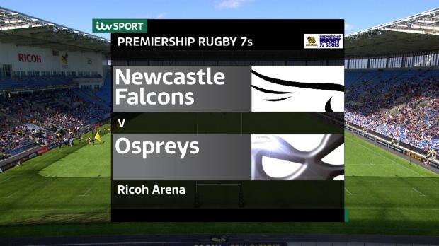 Aviva Premiership - Singha Rugby 7s - Newcastle Falcons v Ospreys