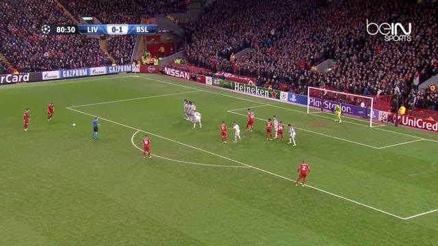 Le coup-franc magique de Gerrard