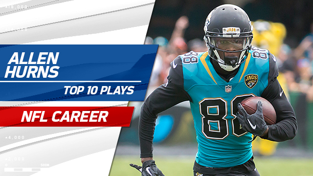 Top 10 plays from Allen Hurns' NFL career so far