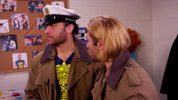Tyler Breeze is delusional when he's hungry - Eat a Snickers
