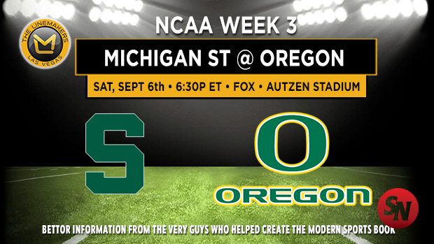 Michigan St at Oregon