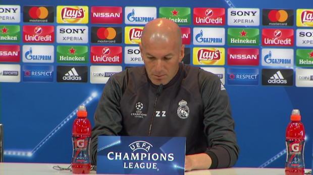 """Zidane: """"Ihre Fragen sind ein bisschen negativ"""""""