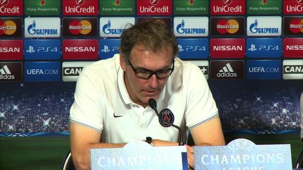 """Foot : LDC - Groupe F : PSG, Blanc : """"Jouer le match"""""""