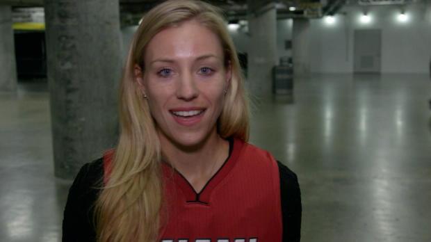 Miami: Kerber begeistert Fans der Heat