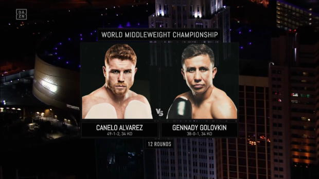 Canelo Alvarez vs Gennadi Golowkin