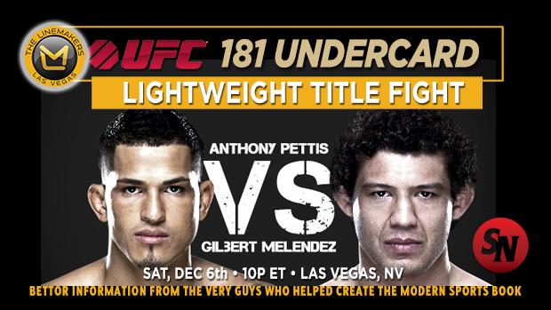 UFC 181 Pettis Vs. Melendez