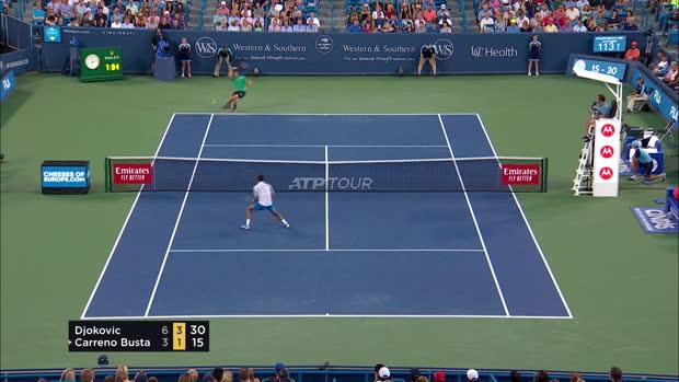 : Cincinnati - Djokovic rejoint Pouille en quarts