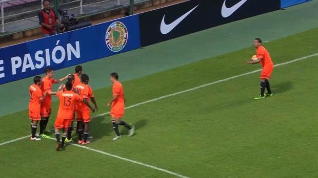 Copa Sudamericana: Bowling-Jubel mit Strike