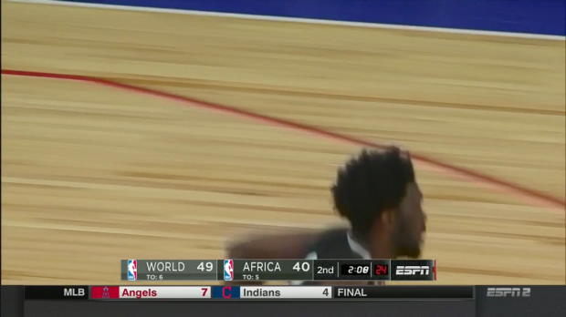 WSC: Joel Embiid 24 points vs Team World