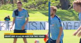 Sydney FC defenders Rhyan Grant and Sebastian Ryall have extended their contracts for a further two seasons.
