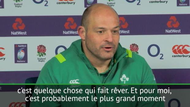 """Rugby : Six Nations - Best - """"Le plus grand moment de ma carrière"""""""