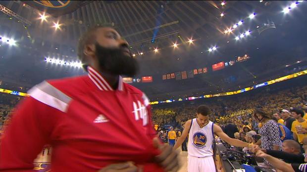 Warriors vs. Rockets: Game 1