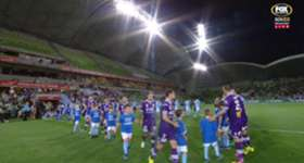 Perth Glory booked a spot in the Hyundai A-League Semi Finals with a comfortable 2-0 win over Melbourne City.