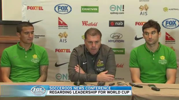 Socceroos captaincy press conference