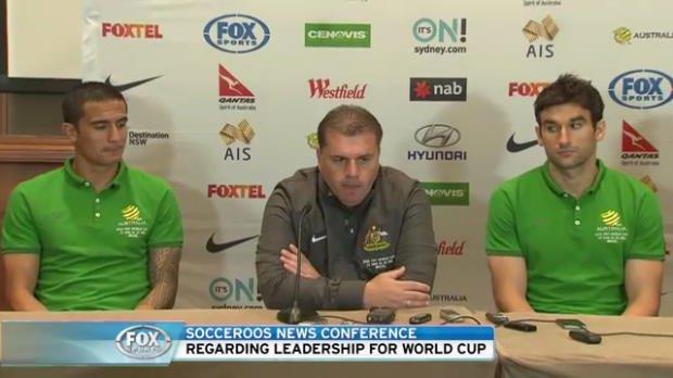 Socceroos captaincy press conference